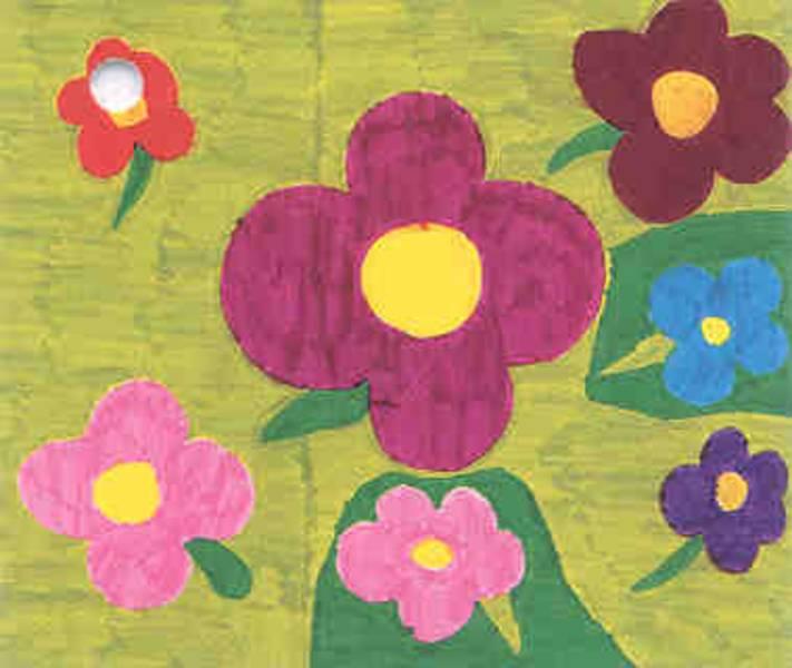 blumenwiese gemalt haus design und m bel ideen